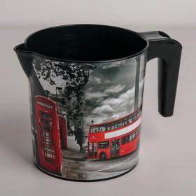 Ковш с рисунком «Лондон», 1,5 л