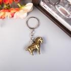 "Keychain Polyresin ""Bronze horse"" 3,5x4,3x1,3 cm"