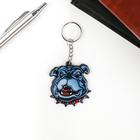 """Keychain acrylic """"Bulldog strict collar"""" 5,6x5,8 cm"""