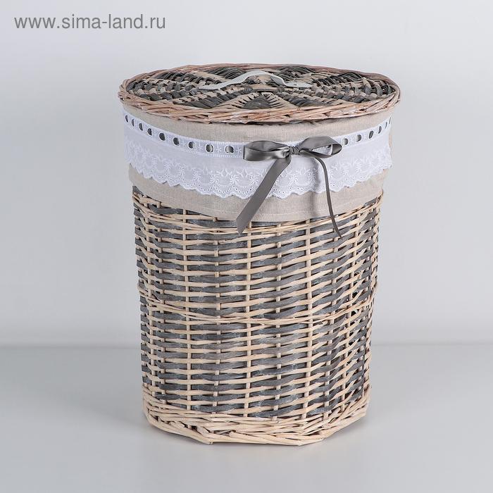 """Universal basket, wicker, oval """"Boho"""""""