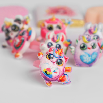 "Ring children's ""Vibracula"" funny animals shape MIX color"