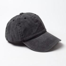 Бейсболка  MINAKU, размер 58, цвет черный