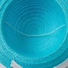 """Шляпа для девочки MINAKU """"Куколка"""", размер 50,  цвет голубой - фото 105565980"""
