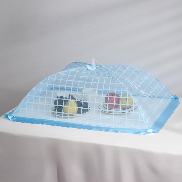 """Сетка защитная для еды 74×48×28 см """"Бахрома"""" цвет МИКС"""