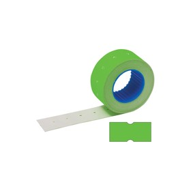 Label tape 21.5 x 12 mm, green, 800 labels