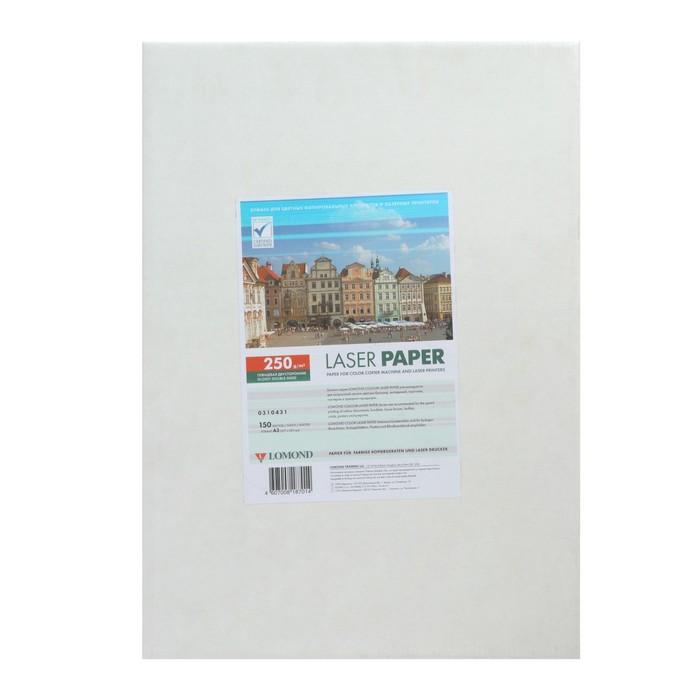Фотобумага для лазерной печати А3 LOMOND, 250 г/м², глянцевая двусторонняя, 150 листов (0310431) - фото 7460738