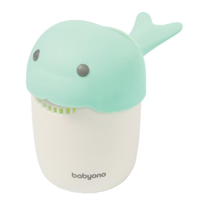 Кружка для ополаскивания BabyOno, цвет зеленый