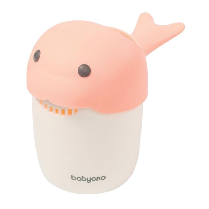 Кружка для ополаскивания BabyOno, цвет розовый