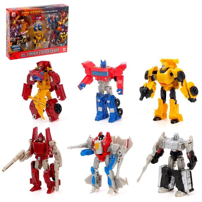 Набор трансформеров «Супер команда» - фото 728983424