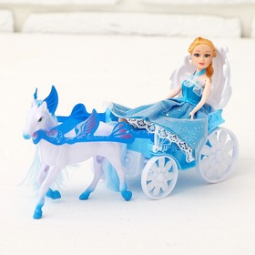 Карета для кукол «Волшебная карета», с куклой