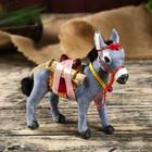 """Fluffy faux fur """"donkey""""MIX 17,5х21х8 cm"""