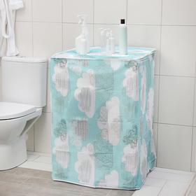 Чехол для стиральной машины, 60×56×83 см, PEVA, цвет МИКС