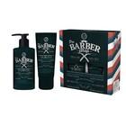Подарочный набор Q.P Pro Barbershop№ 1301: Шампунь, 320 мл, Бальзам после бритья, 100 мл