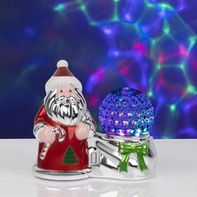 """Световая фигура """"Дед Мороз и шар"""", LED-3-220V"""