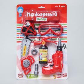 """Набор пожарного ФИКСИКИ """"Фикси-набор""""  цвет МИКС"""