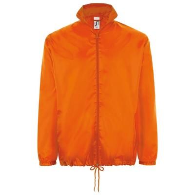 Ветровка унисекс SHIFT, размер L, цвет оранжевый