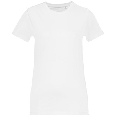 T-shirt women's T-bolka Stretch Light Lady, size S, color white