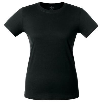 T-shirt women's T-bolka Lady, size L, color black