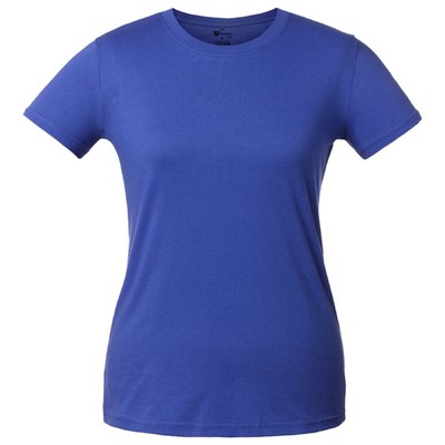 T-shirt women's T-bolka Lady, size M, color bright blue