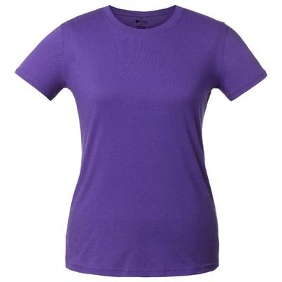 T-shirt women's T-bolka Lady, size S, color purple