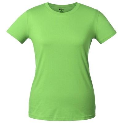 T-shirt women's T-bolka Lady, size XL, color green Apple