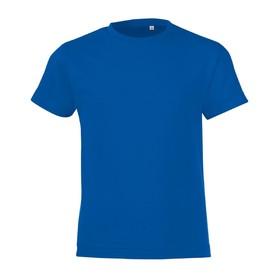 Футболка детская REGENT FIT KIDS, рост 142-154 см, цвет ярко-синий