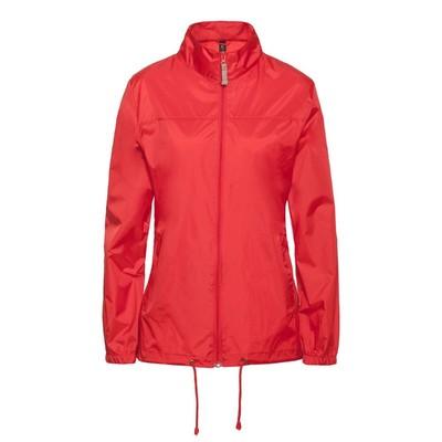 Ветровка женская Sirocco, размер L, цвет красный