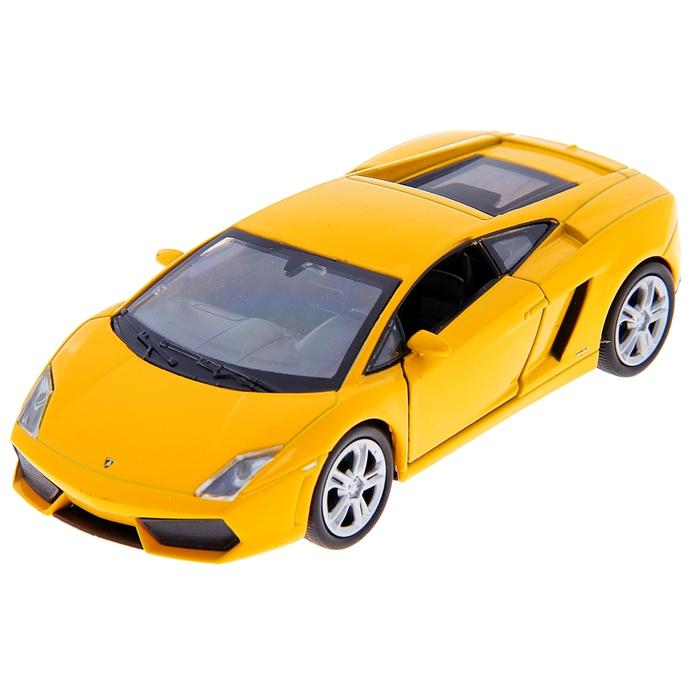Машина Lamborghini Gallardo, масштаб 1:34-39, цвета МИКС