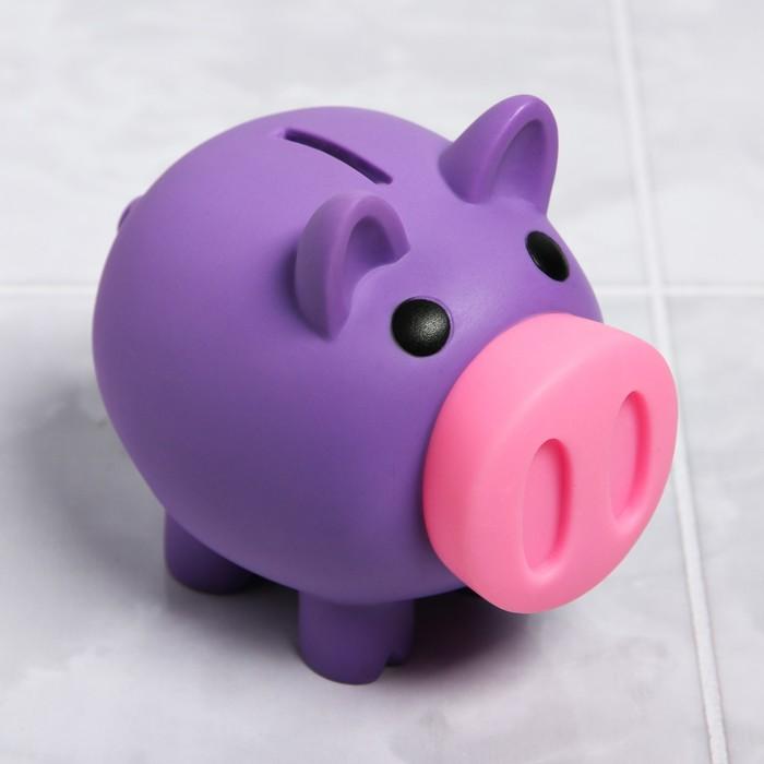 Игрушка для купания «Свинка - копилка», цвет МИКС - фото 783860775