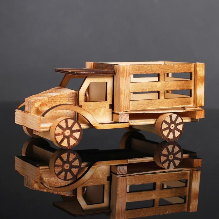 Игрушка деревянная «Грузовик» 9×23×9.5 см - фото 105650242