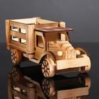Игрушка деревянная «Грузовик» 9×23×9.5 см - фото 105650243