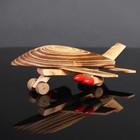 Игрушка деревянная «Самолёт» 16×24×10 см