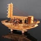 Игрушка деревянная «Корабль» 7.5×27×18 см - фото 105650258