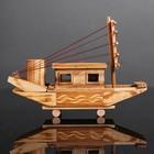 Игрушка деревянная «Корабль» 7.5×27×18 см - фото 105650259