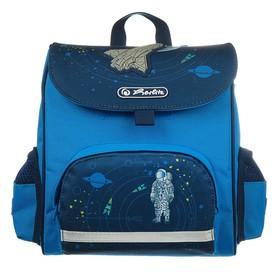 Ранец дошкольный Herlitz MINI SoftBag, 24 х 26 х 14, для мальчика, Space, синий
