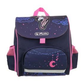 Ранец дошкольный Herlitz MINI SoftBag, 24 х 26 х 14, для мальчика, Unicorn Night, фиолетовый