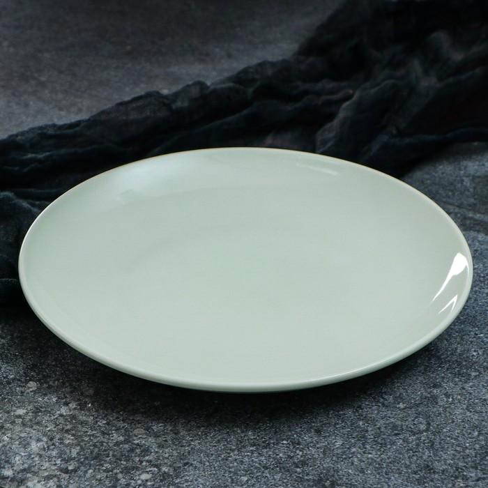 "Тарелка ""Сиеста"", 25 см, зеленый, 1 сорт"