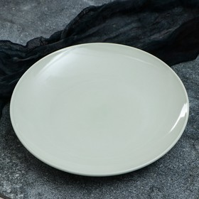 """Тарелка """"Сиеста"""", 31 см, зеленая, 1 сорт"""