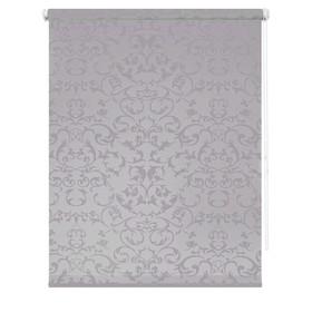 Рулонная штора «Дельфы», 70 х 175 см, цвет серый