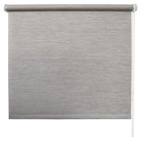 Рулонная штора «Концепт», 40 х 175 см, цвет серый