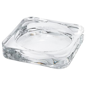 Подсвечник для свечи ГЛАСИГ, прозрачное стекло