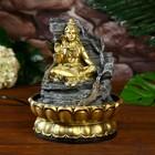 """The fountain table from the network, highlighting """"Shiva rock"""" 28х20х20 cm"""