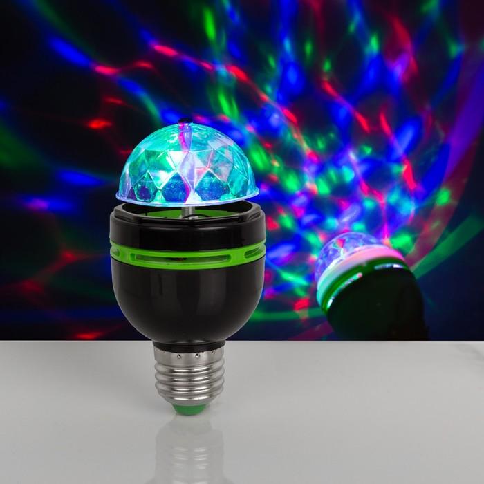 Лампа хрустальный шар диаметр 5,5 см., 220V, цоколь Е27, ЧЕРНЫЙ