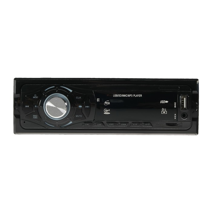 Автомобильная магнитола, USB, MP3, AUX, MicroCD, мощность 60 W, LT-3