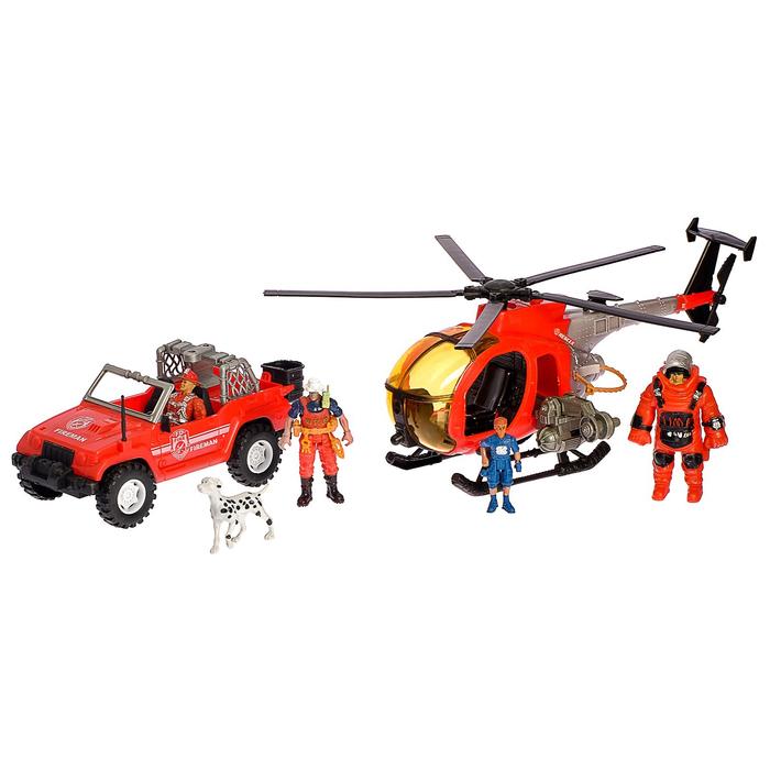 Набор пожарных «Поисково-спасательная служба», в пакете