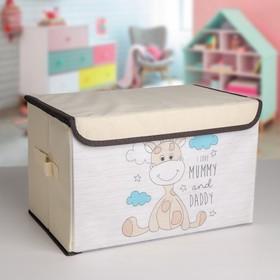 Короб для хранения с крышкой «Жеребёнок», 38×25×24 см