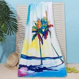 "Beach towel Ethel ""Sunset"", 75*140cm, microfiber, 100% p/e"