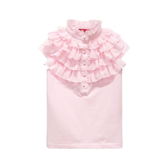 Блузка для девочки, рост 122(64), цвет нежно-розовый