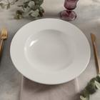 Тарелка глубокая «Prime», 650 мл, d=30 см, цвет белый