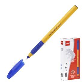Ручка шариковая Cello Tri-Grip yellow barrel узел 0.7мм, чернила синие, грип 748